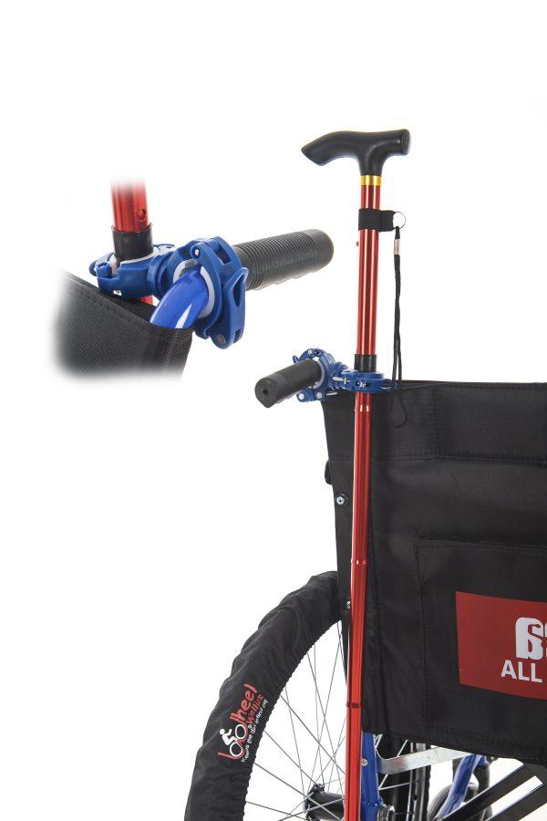 Crutch / Walking Stick Wheelchair Holder