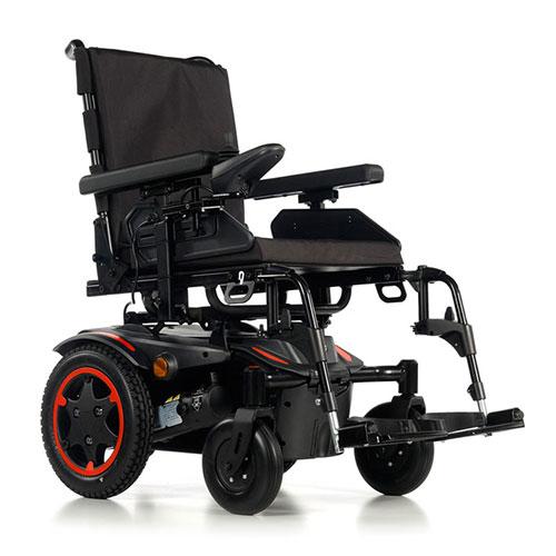 Quickie Salsa Q100R Rear Wheel Drive Powerchair